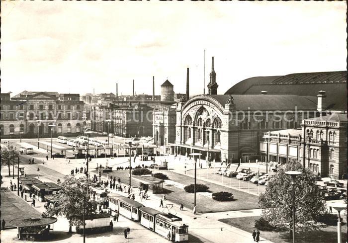 Bremen Hauptbahnhof Strassenbahn Kat. Bremen