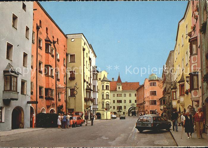 Rattenberg Inn Strassenpartie Kat. Aschau a.Inn