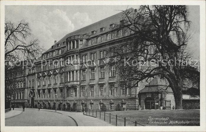 Darmstadt Technische Hochschule Kat. Darmstadt