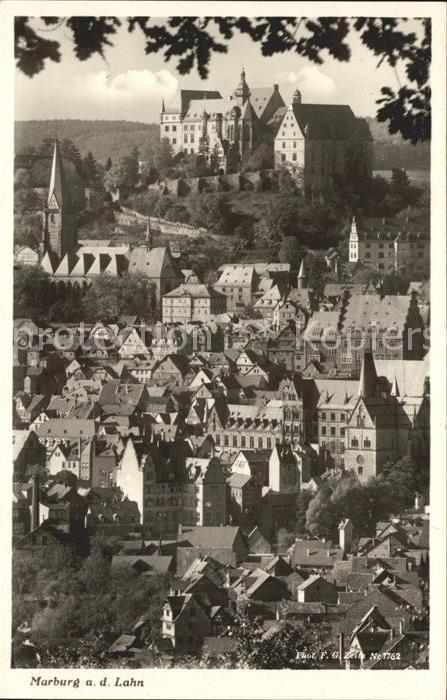 Marburg Lahn Foto F. G. Zeitz Nr. 1762 Kat. Marburg