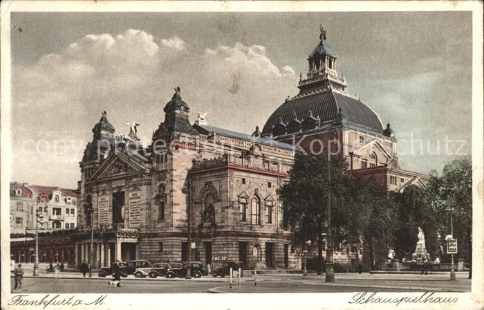 Frankfurt Main Schauspielhaus Kat. Frankfurt am Main