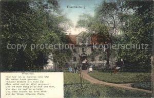 Paschenburg Sulingen Hotel und Weserlied Kat. Barenburg
