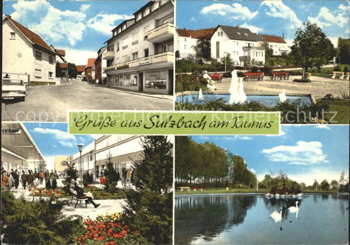 Sulzbach Taunus Kat. Sulzbach (Taunus) Nr. kf42344