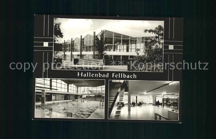 Fellbach Hallenbad Kat. Fellbach