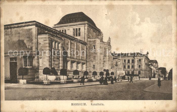 Mannheim Kunsthalle Kat. Mannheim