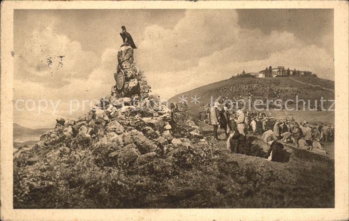 Wasserkuppe Rhoen Flieger Denkmal errichtet vom Ring der Flieger Kat. Poppenhausen (Wasserkuppe)