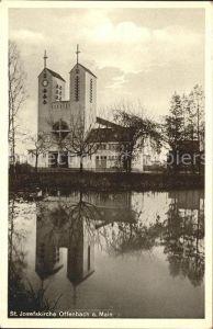 Offenbach Main St. Josefskirche Kat. Offenbach am Main