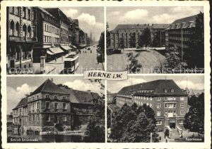 Herne Westfalen Schloss Struenkede Bahnhofstrasse Kat. Herne