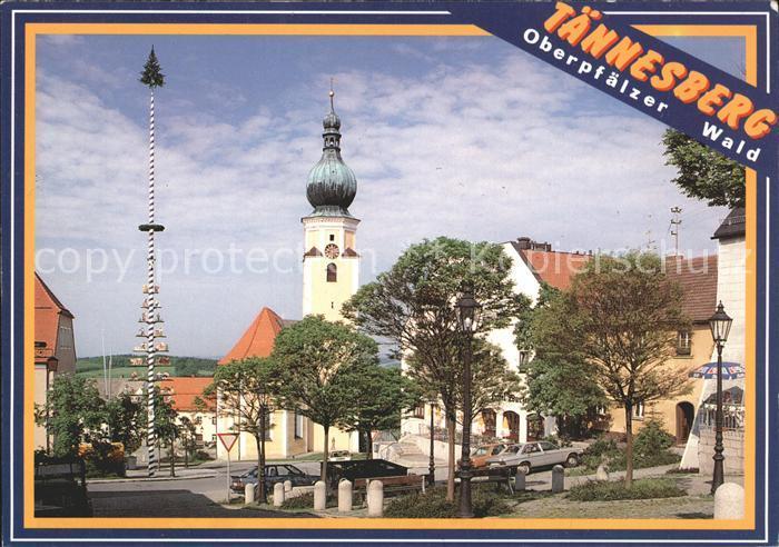 Taennesberg Marktplatz Pfarrkirche Kat. Taennesberg