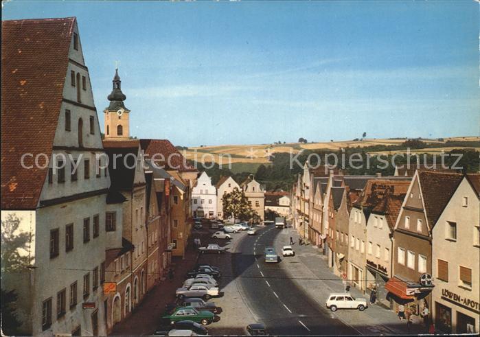 Neustadt Waldnaab Strassenpartie Kat. Neustadt a.d.Waldnaab