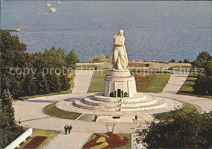Varna Warna Denkmal der Antifaschisten / Varna /