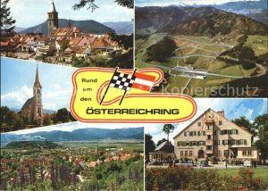 Judenburg Steiermark Rund um den Osterreichring Rennbahn Zeltweg Knittelfeld Fohnsdorf Kat. Judenburg