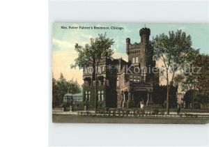 Chicago Illinois Mrs Potter Palmer Residence  Kat. Chicago