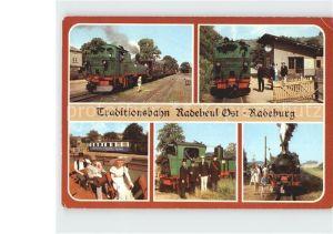 Radebeul Traditionsbahn Radebeul  Kat. Radebeul