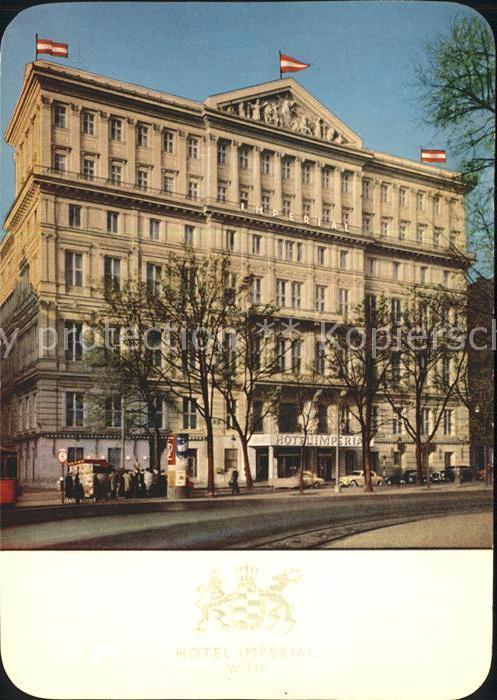 Wien Hotel Imperial Kat. Wien