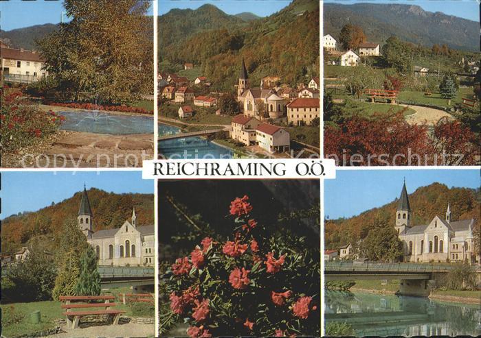 Reichraming Brunnen und Kirchen Kat. Reichraming
