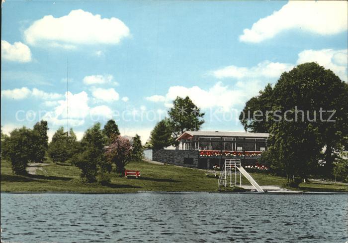 Schmidthahn Haus am See Campingplatz Kat. Steinebach an der Wied