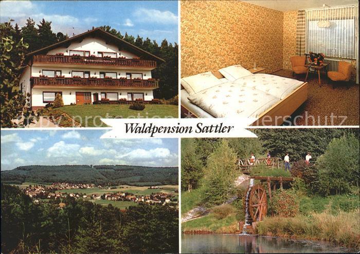 Wahlen Odenwald Waldpension Sattler Kat. Grasellenbach