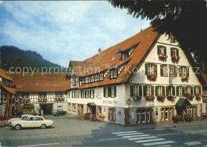 Klosterreichenbach Kloster Gasthof Hotel Sonne Post Kat. Baiersbronn