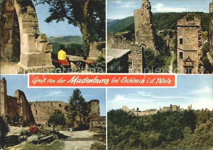 Eschbach Pfalz Madenburg Kat. Eschbach