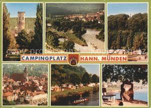 Hann. Muenden Campingplatz  Kat. Hann. Muenden