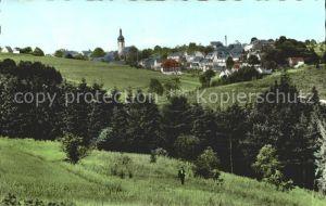 Schwarzenbach Wald Ortsansicht Kat. Schwarzenbach a.Wald