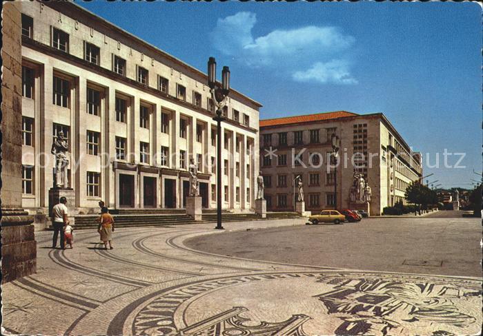 Coimbra Um aspecto da cidade Universitaria Kat. Coimbra
