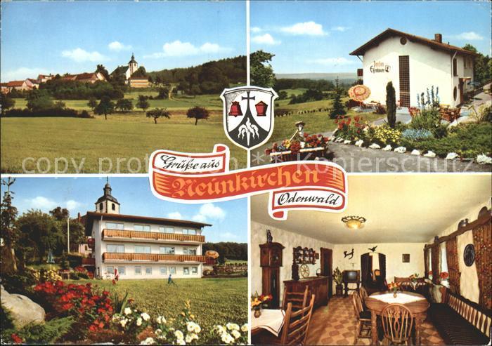 Neunkirchen Odenwald Gasthaus Pension Zum Rodenstein Pension Eisenhauer Gaststube Kat. Modautal
