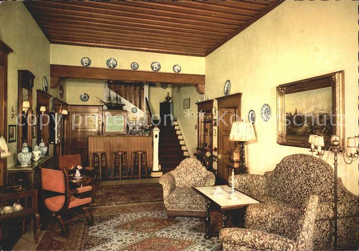 Annweiler Trifels Kurhaus Trifels Aufenthaltsraum Bar Kat. Annweiler am Trifels