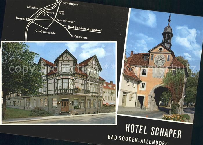 Bad Sooden Allendorf Hotel Schaper Am Gradierwerk Kat. Bad Sooden Allendorf