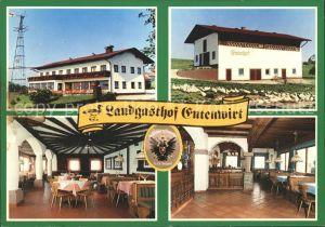 Tarsdorf Landgasthof Entenwirt Gastraum Entenschar Kat. Tarsdorf