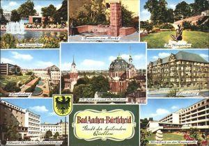 Burtscheid Aachen Kurgarten St Johann St Michael  Kat. Aachen