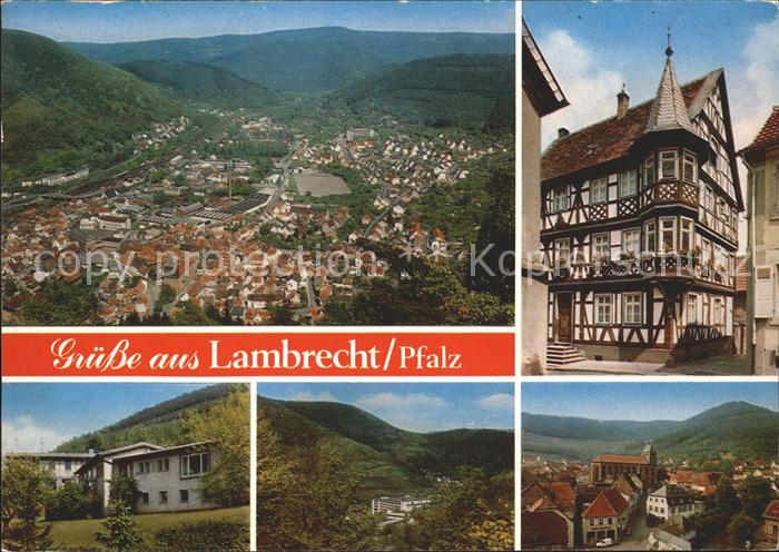 Lambrecht Ortsansichten Kat. Lambrecht (Pfalz)