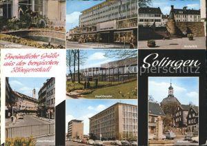Solingen Dukatenesel Stadt Sparkasse Goerdelerstrasse Hauptstrasse  Kat. Solingen