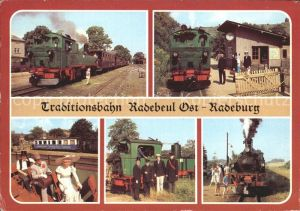 Radebeul Traditionsbahn Radebeul Ost   Radeburg Kat. Radebeul