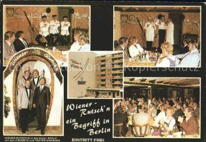 Berlin Wiener Rutschn Restaurant  Kat. Berlin