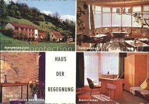 Rotenburg Fulda Haus der Begegnung Kat. Rotenburg a.d. Fulda