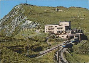 Rochers de Naye Grand Hotel Bergbahn Kat. Rochers de Naye