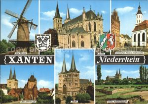 Xanten Niederrhein Alte Muehle Dom Klever Tor Kat. Xanten