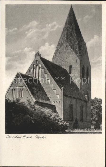 Rerik Ostseebad Kirche Kat. Ostseebad Rerik