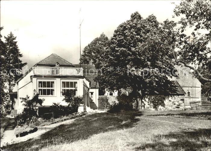 Carwitz Hans Fallada Haus Kat. Feldberger Seenlandschaft 0