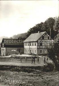 Nassau Erzgebirge Ferienheim der Deutschen Post HPA Dresden Kat. Frauenstein Sachsen
