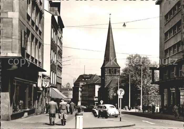 Essen Ruhr Kettwiger Strasse Kat. Essen