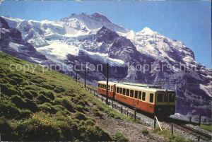 Jungfraubahn mit Jungfraujoch Kl Scheidegg und Jungfrau Kat. Jungfrau