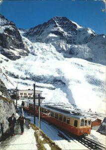 Jungfraubahn Station Eigergletscher Moench Kat. Jungfrau