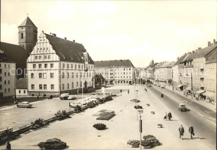 Eilenburg Rathaus und Markt Kat. Eilenburg
