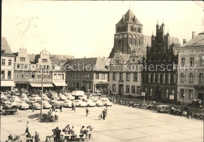Greifswald Mecklenburg Vorpommern Markt Kat. Greifswald