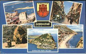 Gibraltar Main Street Rock Apes Castle an Bay Kat. Gibraltar