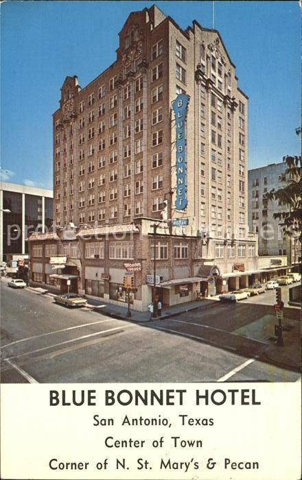 San Antonio Texas Blue Bonnet Hotel Kat. San Antonio