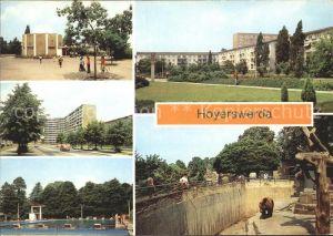 Hoyerswerda Tierpark Schwimmbad Kat. Hoyerswerda